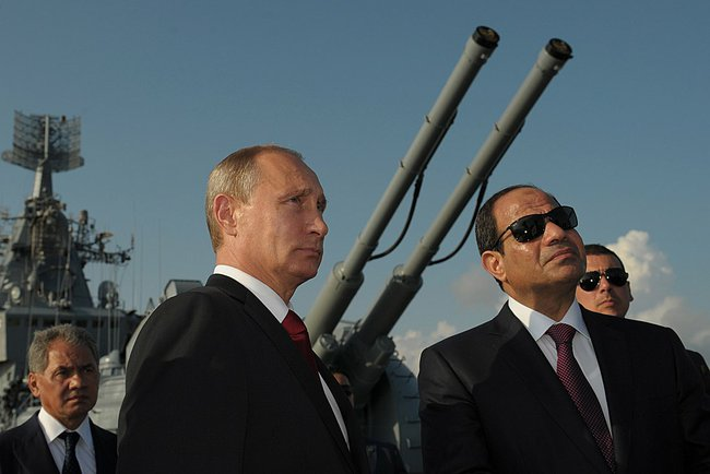Russia's growing influence in North Africa
