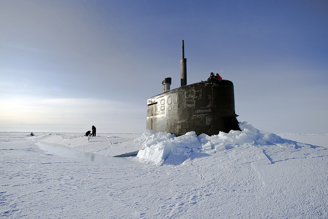 The Arctic: rising temperatures, rising tensions?